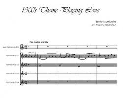 cover 1900's Theme - Playing Love