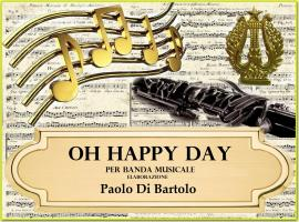 cover Oh Happy day per banda Musicale